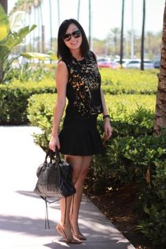 flirty skirt, leopard, balenciaga, jcrew flats
